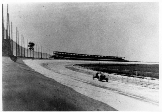 Car Practicing for Race - 1915