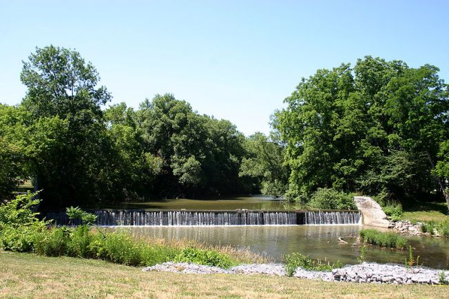 Old Mill Dam on the Tonawanda