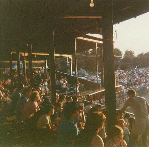 The Old Wooden Grandstand