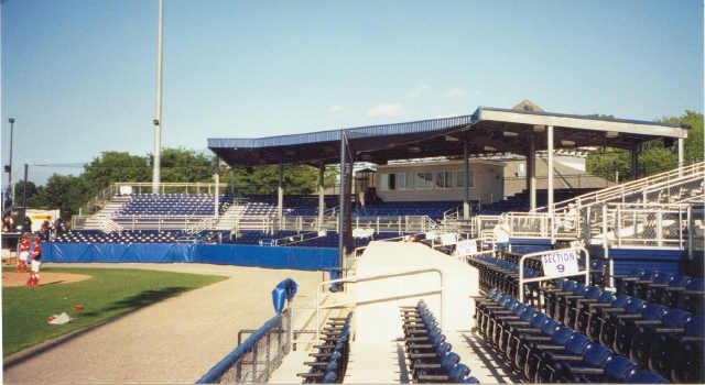 The new ball park