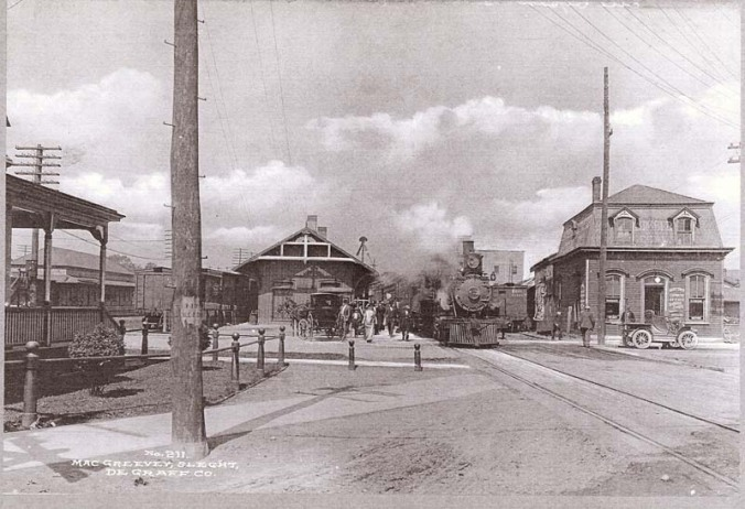 NY Central Station - Batavia 1910