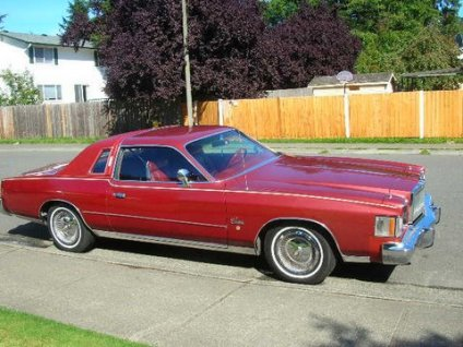 You could pack a lot of fun into a 1978 Chrysler Cordoba