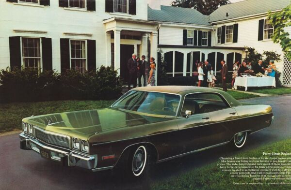 The 1973 Plymouth Fury