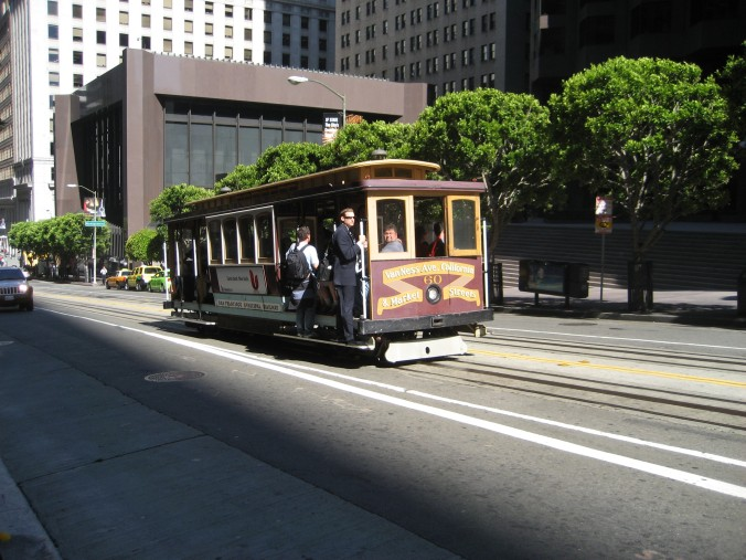clang clang clang went the trolley...