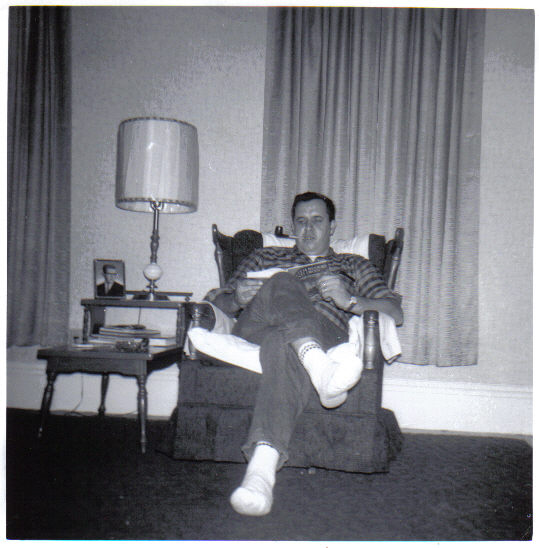 The original Mr. 20 Prospect with his pipe in our living room, circa 1968