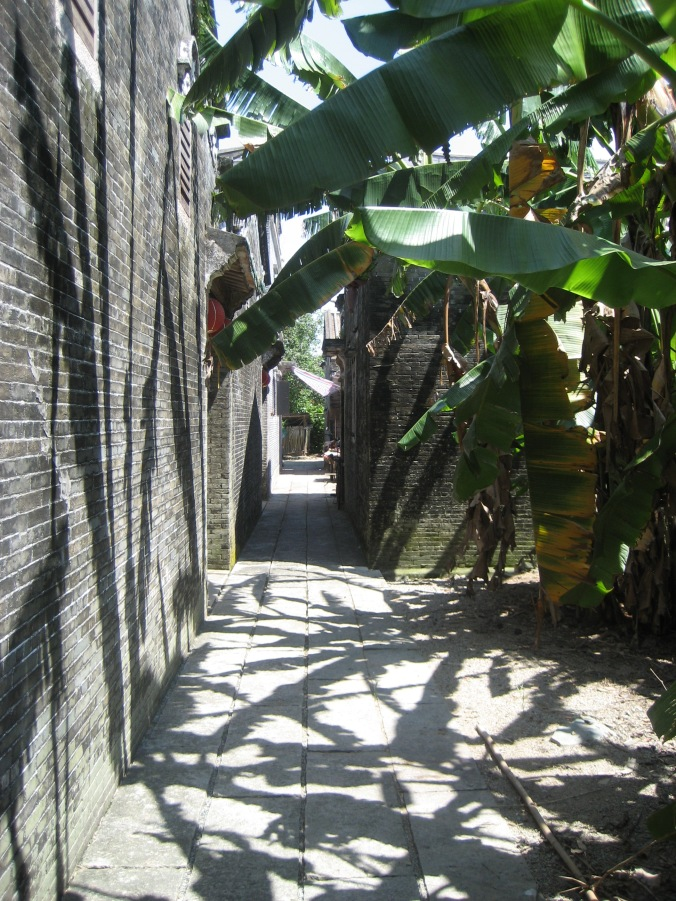 Alley in Zili Village