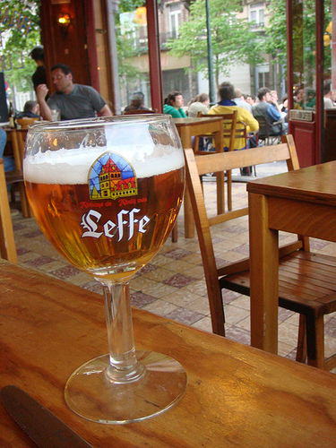 Note to Belgium. Start chilling the Leffe I'm on my way...