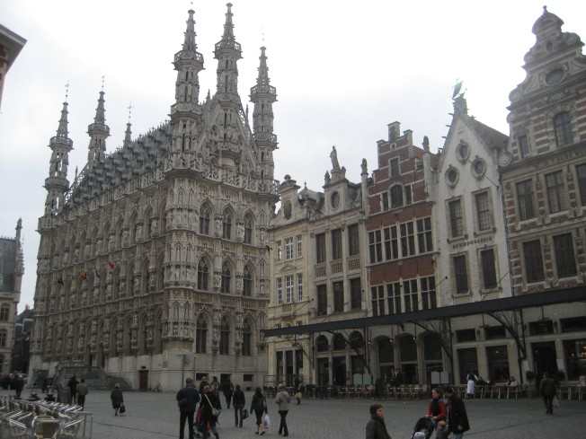 The Stadhuis on the Grote Markt in Leuven