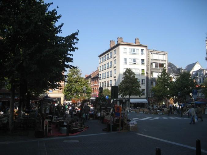 Zaterdag vlooienmarkt in Leuven