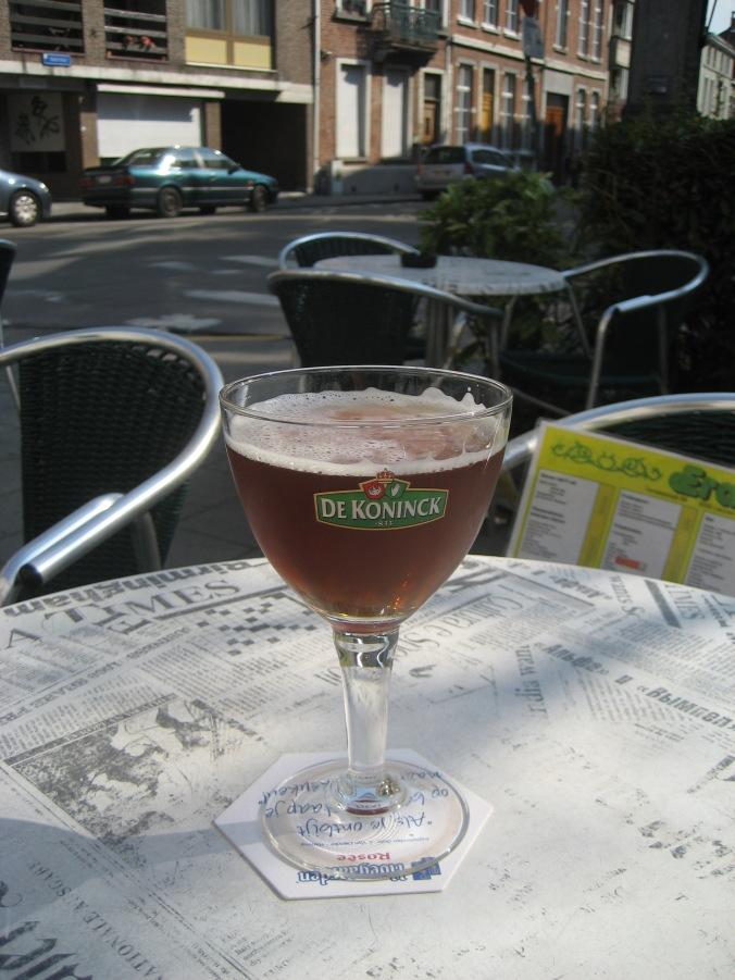 The official beer of Antwerp