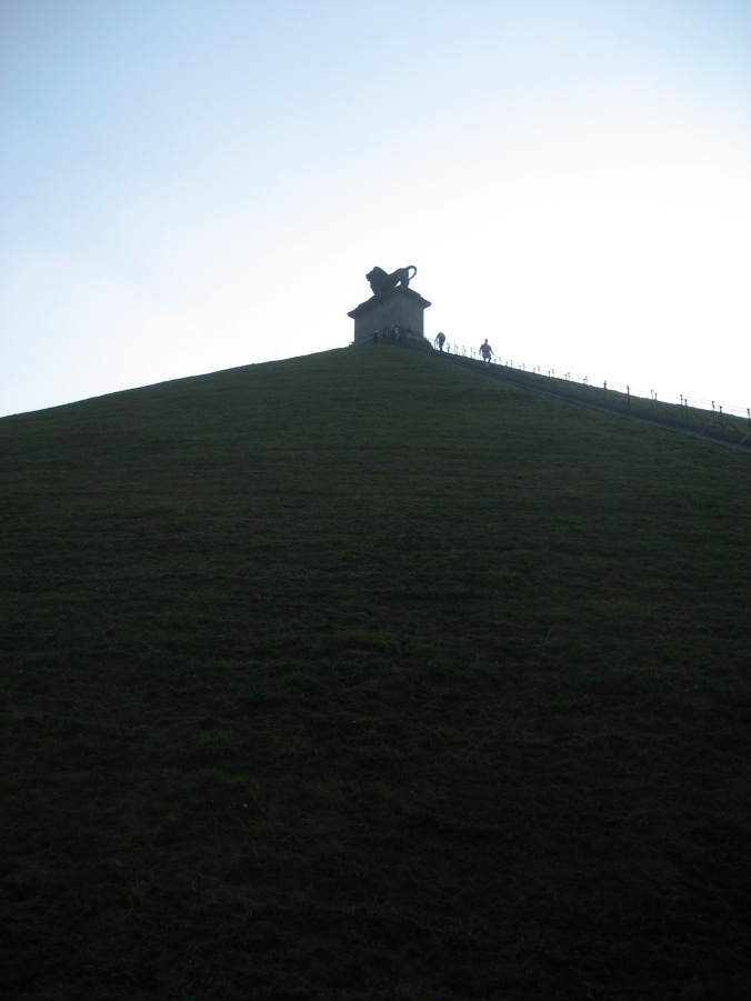 The Memorial Mound in Waterloo
