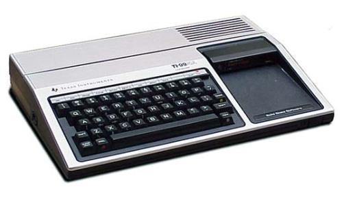 The Texas Instruments TI-99