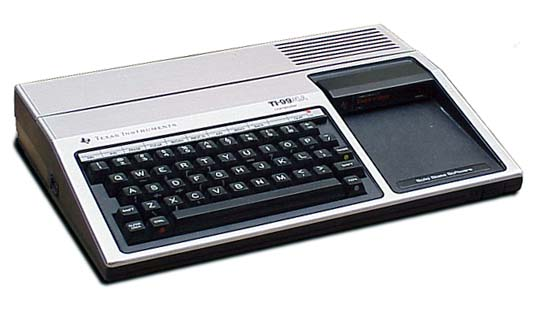 The Texas Instruments TI-99