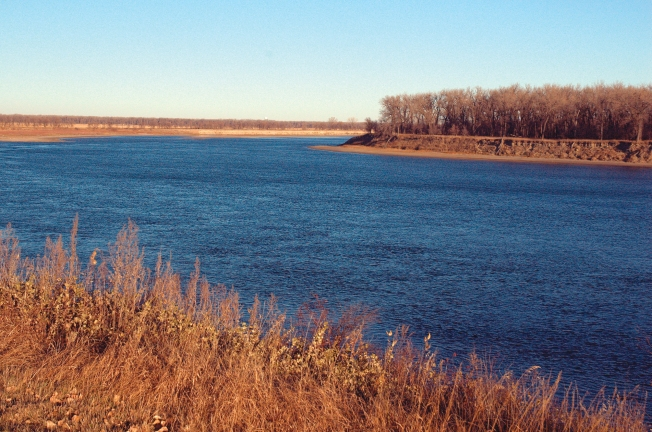 The Missouri River near Stanton