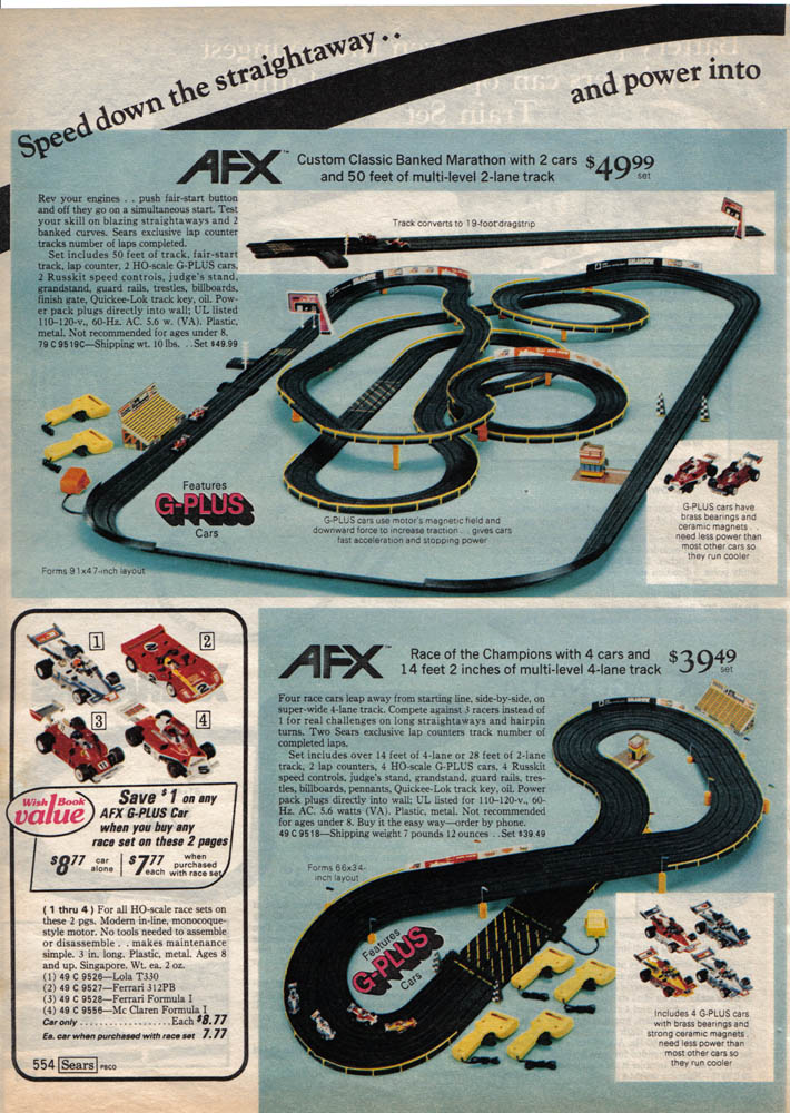 Slot Car Race Tracks For Sale