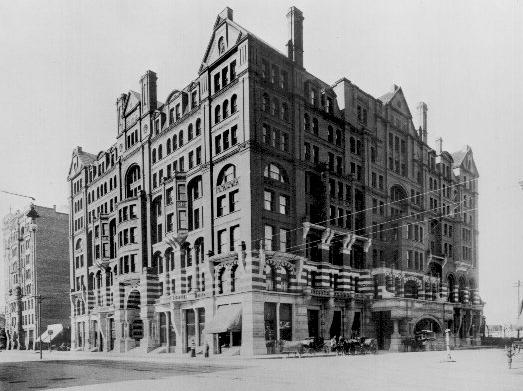 The west hotel corner of 5th and hennepin