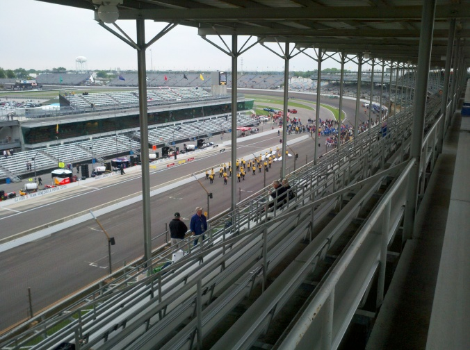 Someday this will be our view of the race...